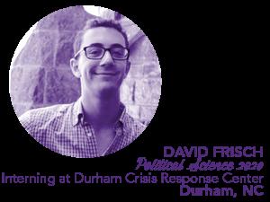 David Frisch; Portfolio; Bio