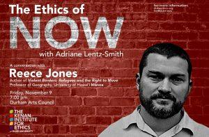 The Ethics of Now: Reece Jones, Violent Borders