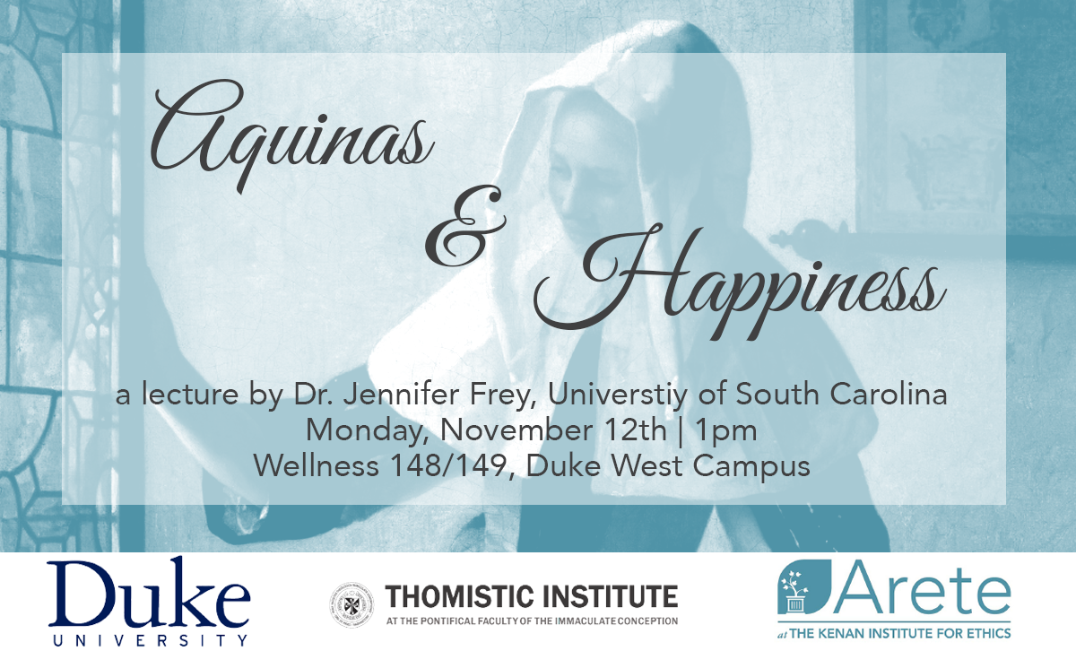 Aquinas & Happiness