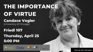 The Importance of Virtue, Candace Vogler
