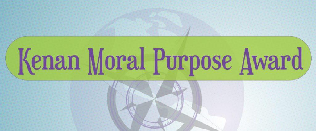Kenan Moral Purpose Award Benner