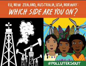 Kick Big Polluters Poster