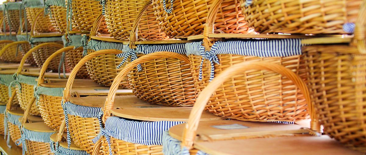 Project Citizen picnic baskets