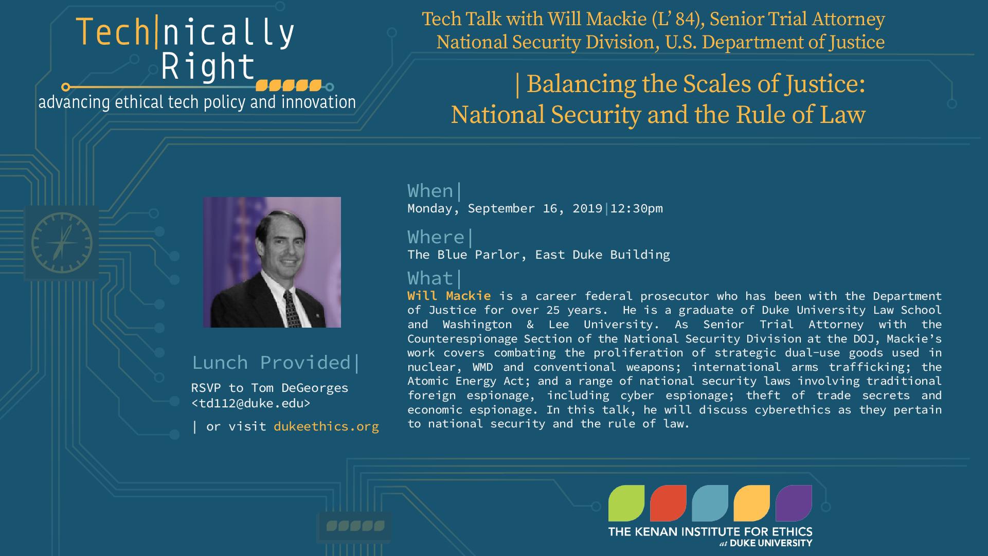TechTalk - _Will Mackie