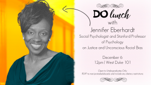 Do Lunch with Jennifer Eberhardt - info in text below