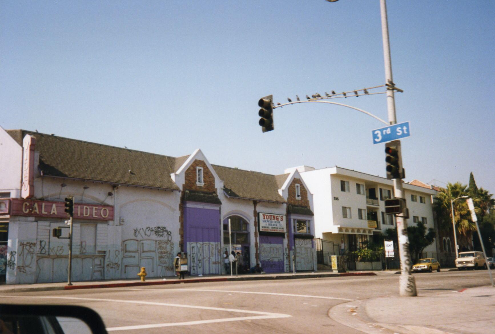 3rd Street, LA