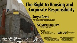 The Right to Housing and Corporate Responsibility - all info in txt