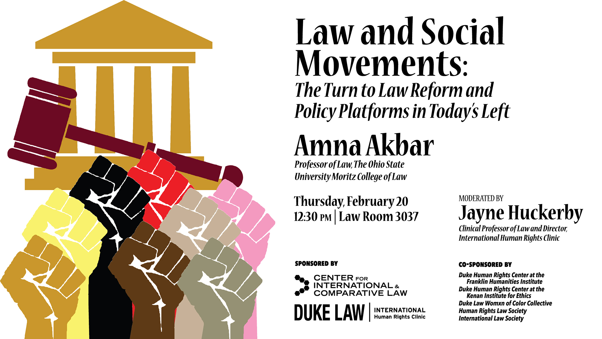 Human Rights in Practice -- Law and Social Movements: The Turn to Law Reform and Policy Platforms in Today's Left