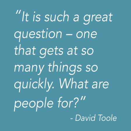David Toole quote