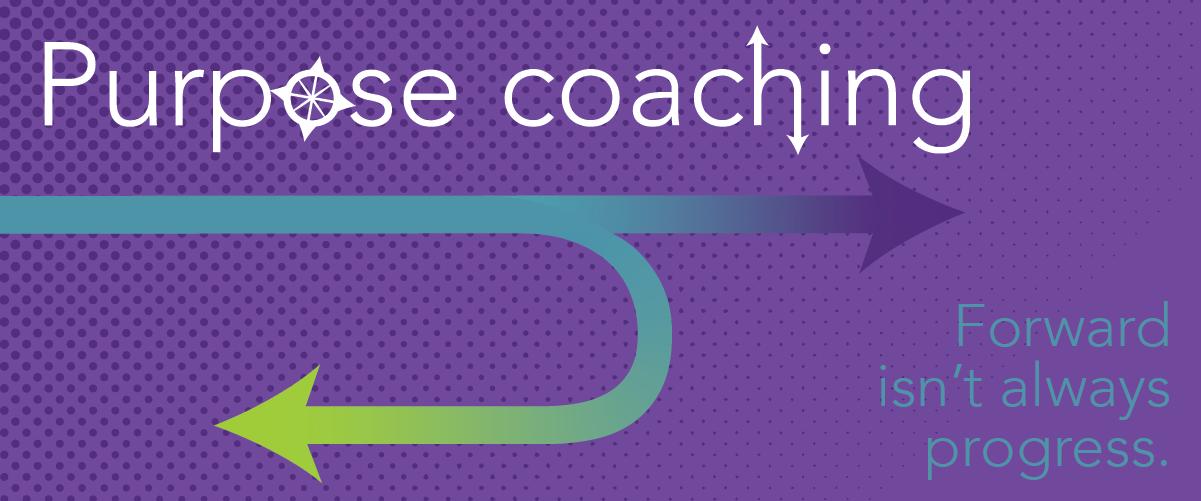Purpose coaching decorative banner