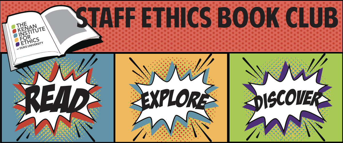 Staff Ethics Book Club Decorative Graphic