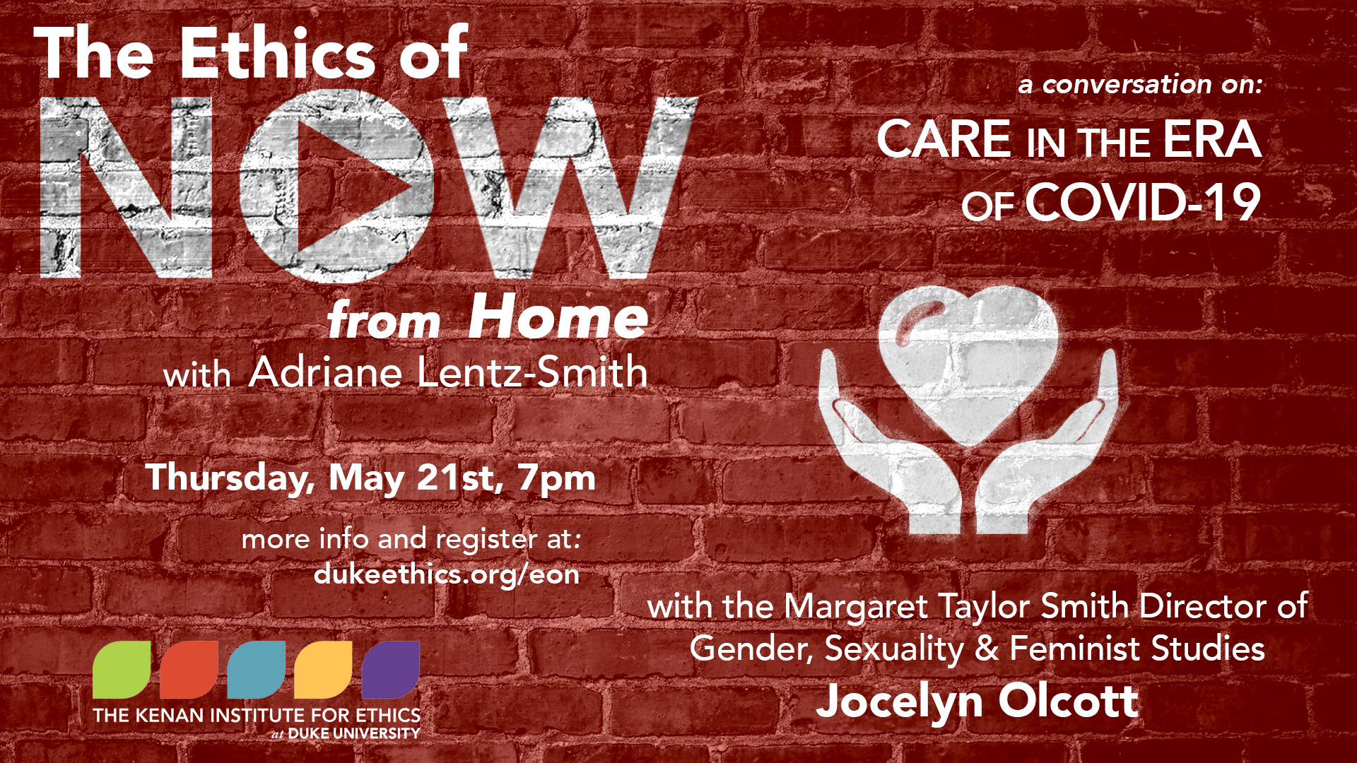 ethics of now Jocelyn Olcott