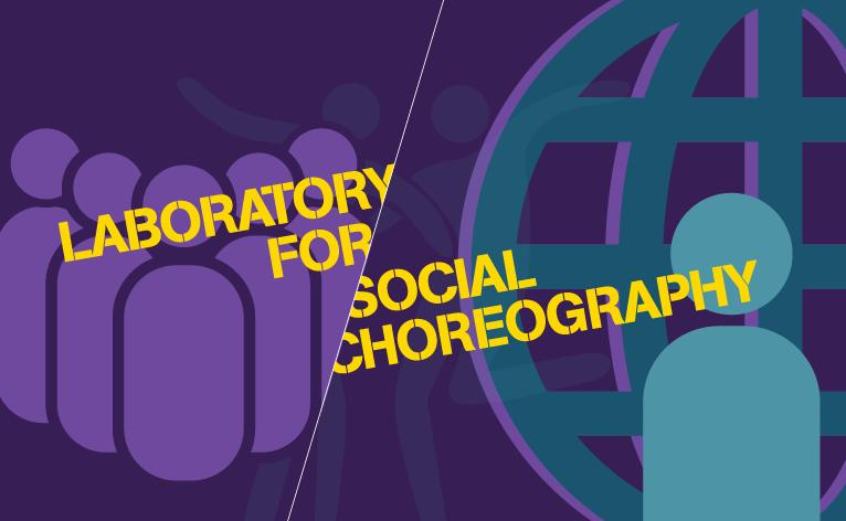 "Decorative tile for ""Laboratory for Social Choreography"" program"