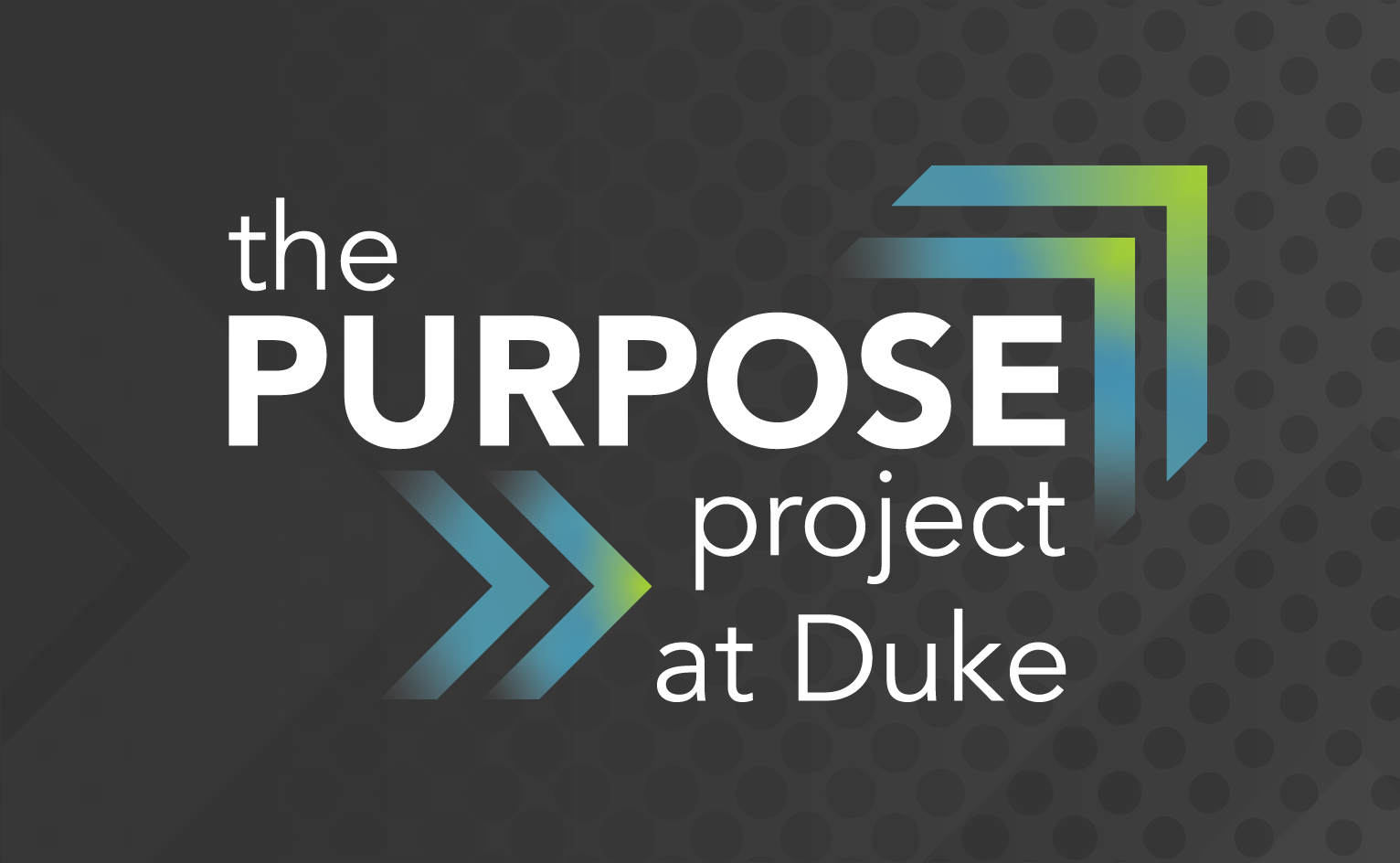 Decorative tile for the The Purpose Project at Duke