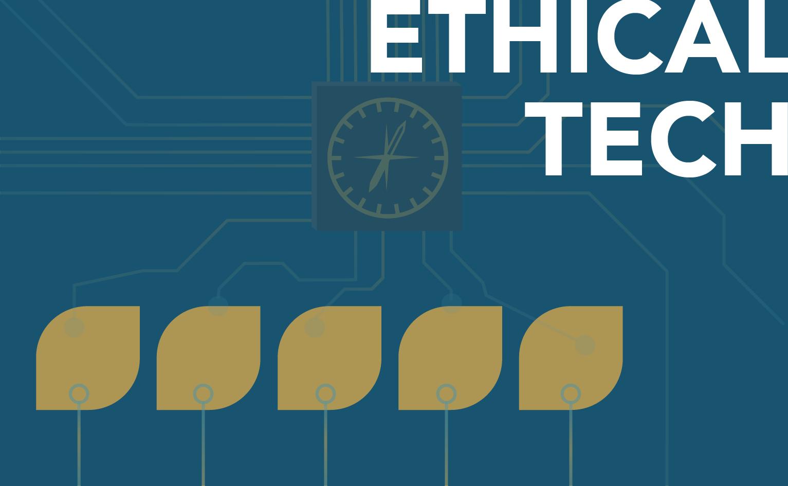 Decorative tile for Ethical Tech program