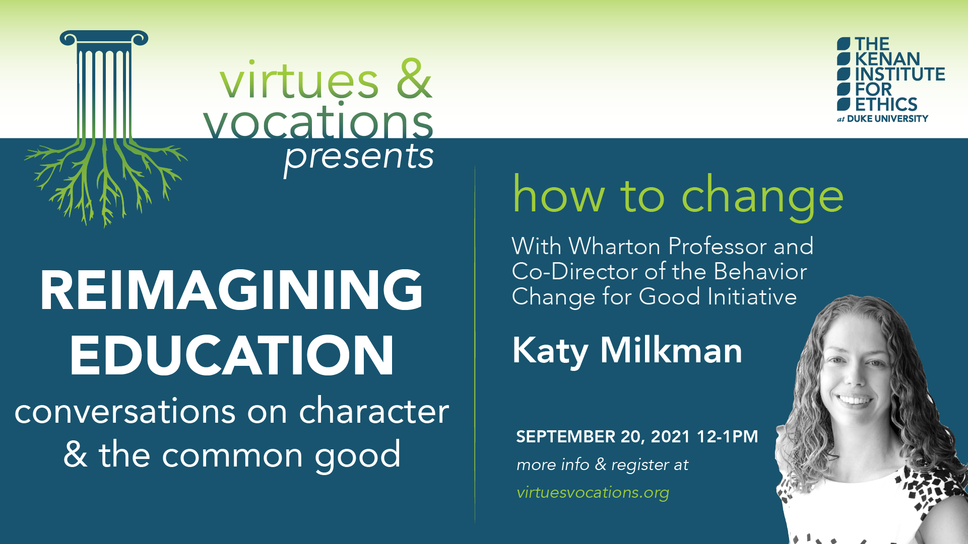 reimagining education w/ katy milkman